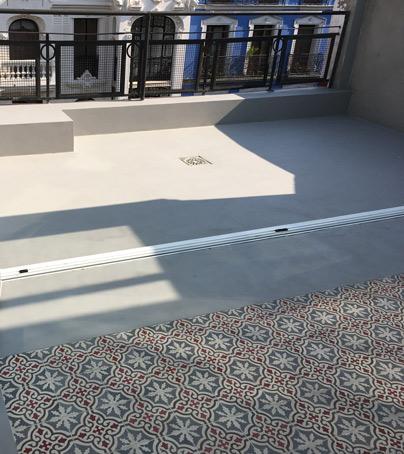 terraza de microcemento resistone madrid